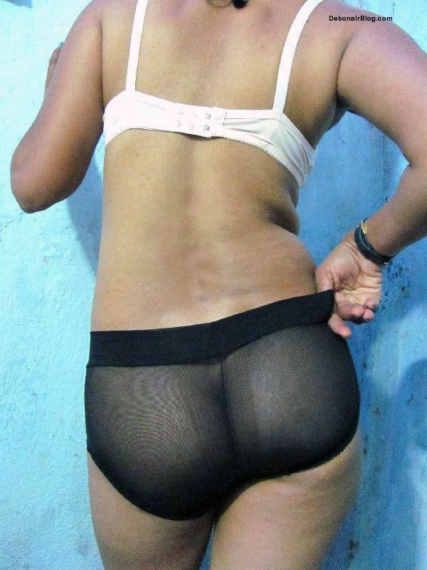 desi hottie babe in white bra and transparent black panty pics