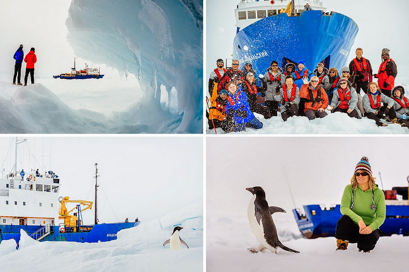 Research ship trapped in Antarctic ice
