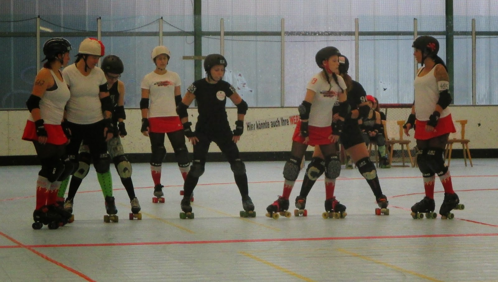 roller derby erfurt mixed scrimmage. Black Bedroom Furniture Sets. Home Design Ideas