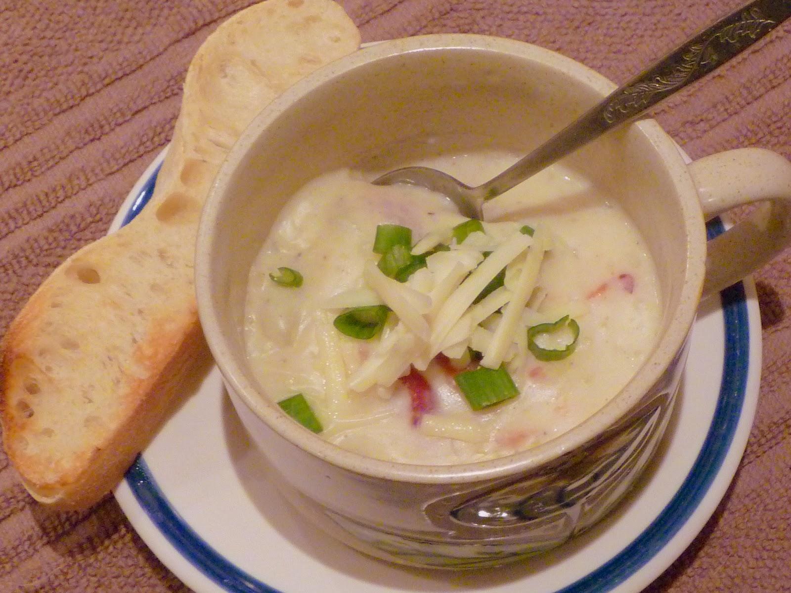 Good Cooking Light Baked Potato Soup Nice Ideas