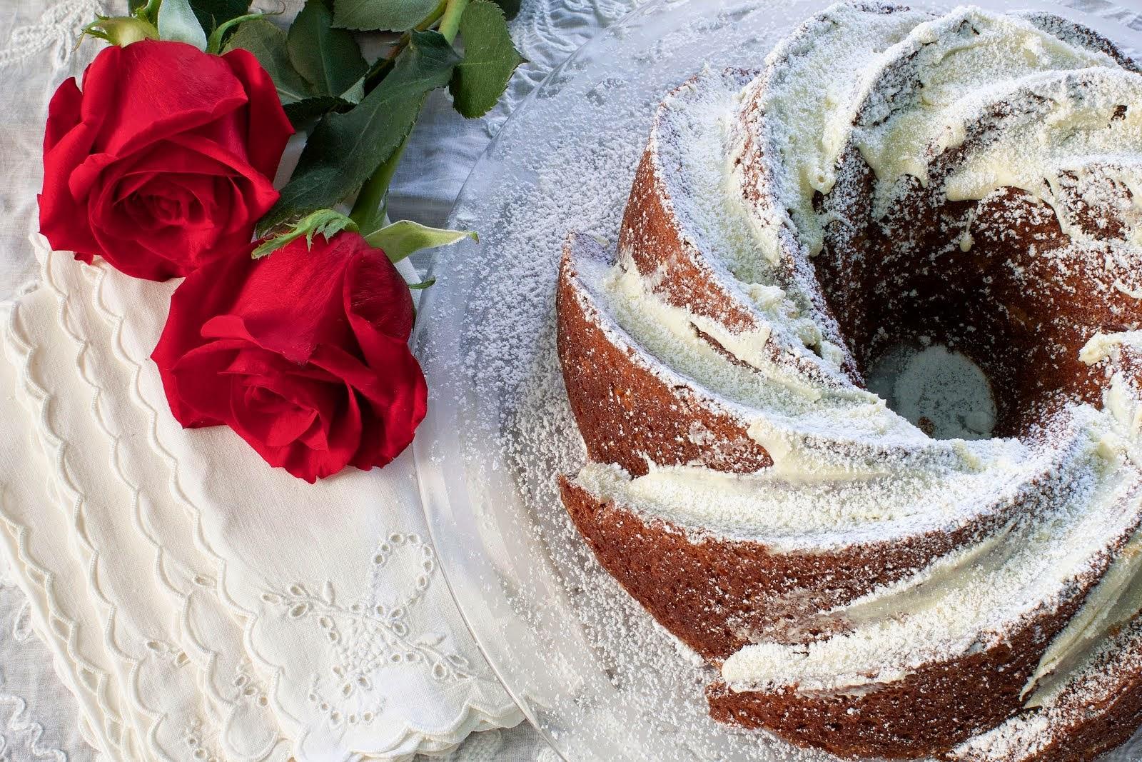 Poppy Seed Pound Cake