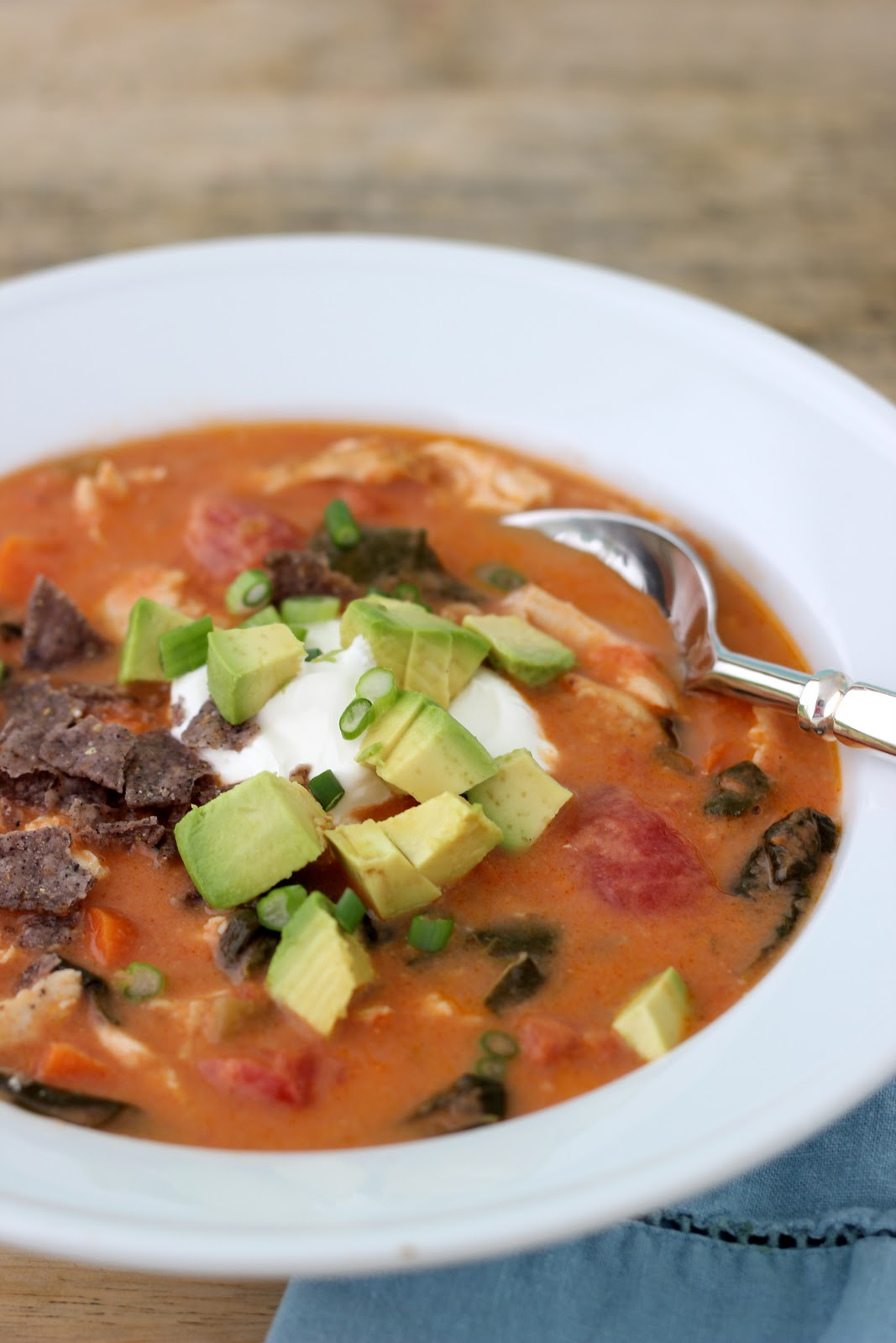 ... Tortilla Soup | Healthy Chicken & Vegetable Packed Mexican Soup
