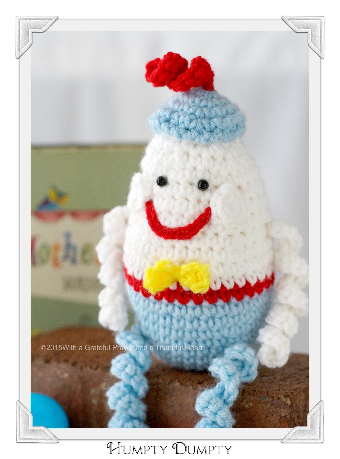 Free Humpty Dumpty Knitting Pattern : Crochet Pattern Humpty Dumpty images