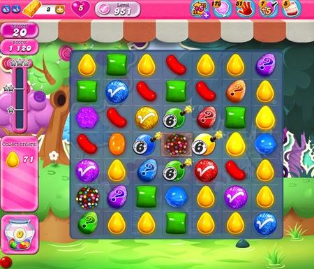 Candy Crush Saga 951