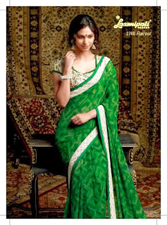 Embroidered Sarees of Indian