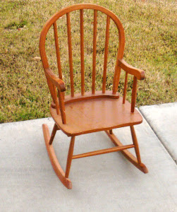 Child's Rocking Chair  *SOLD*
