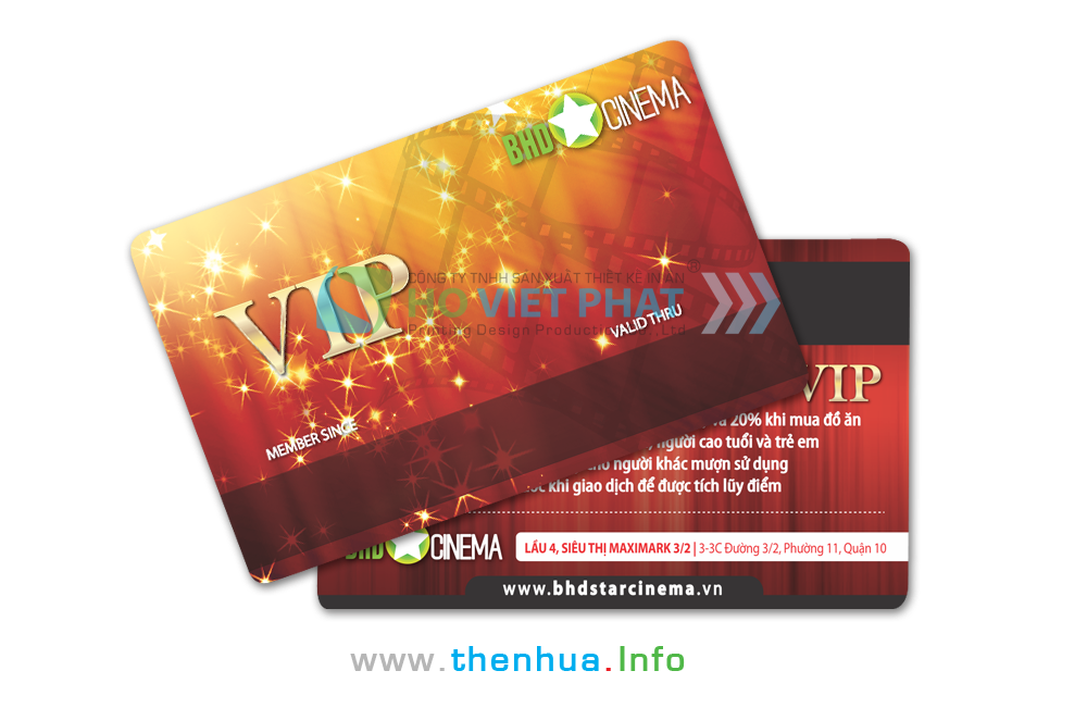 VIP Card Giảm Giá Xem Phim