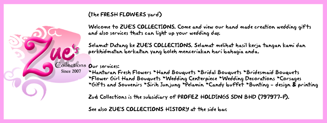 zue's collections header