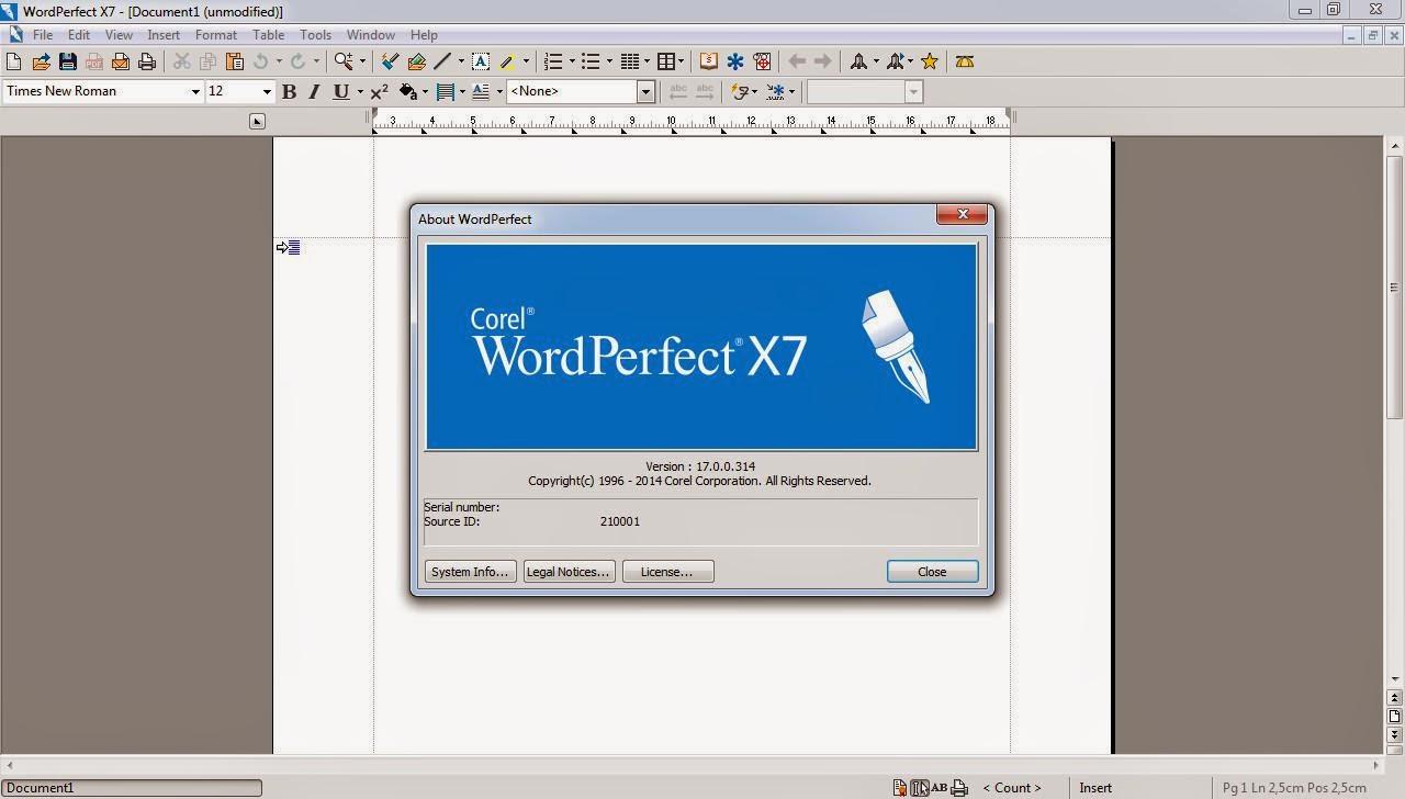 corel wordperfect office x7 keygen
