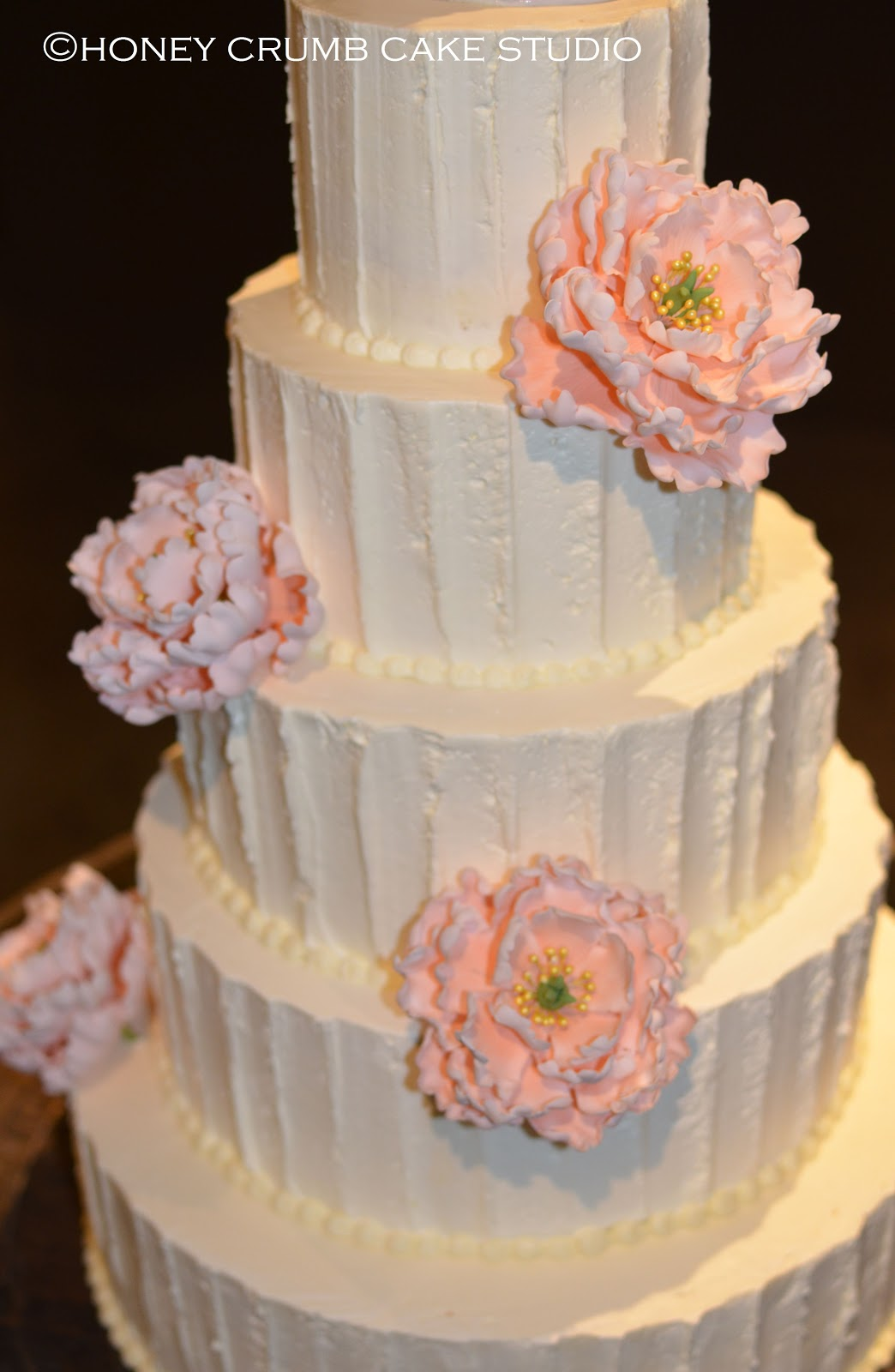 how to make blush pink buttercream