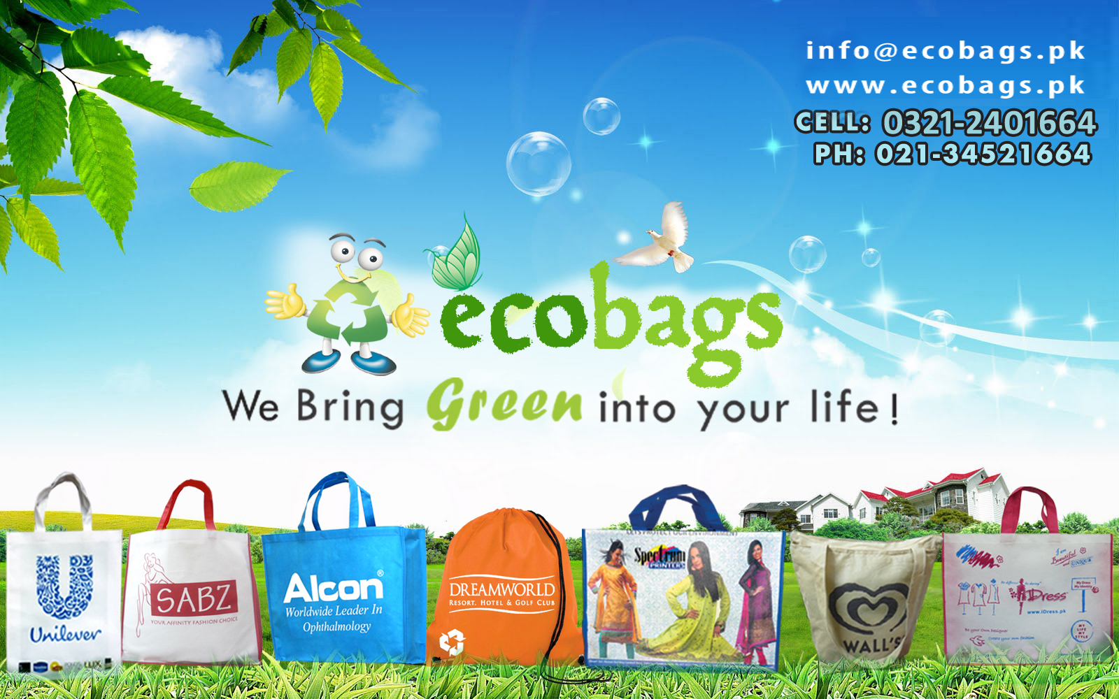Ecosilk Bags - eco friendly shopping bags - shoulder bags ...