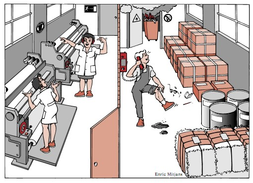Señalizacion de Seguridad y Salud. Caso Práctico