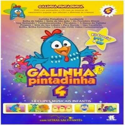 Cd Galinha Pintadinha 4