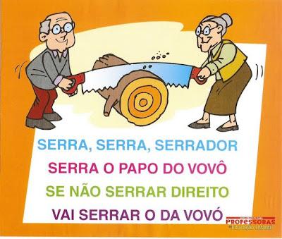 Parlendas Ilustradas - Serra Serra Serrador
