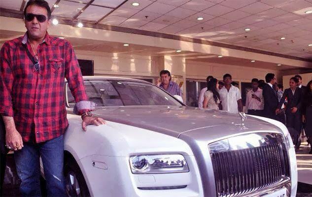 Image result for Sanjay Dutt Rolls Royce Ghost
