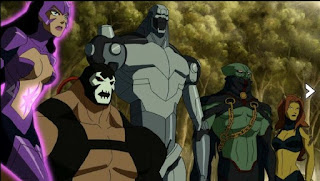 Justice League Doom animated - Legion of Doom