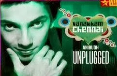 Vijay Tv Special Show – Anirudh Unplugged 14-10-2013