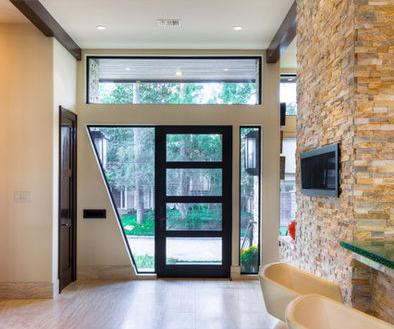 Fotos y Diseos de Puertas Decoracin de puertas interiores