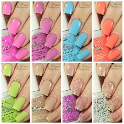 IBD Just Gel Social Lights Collection Swatches