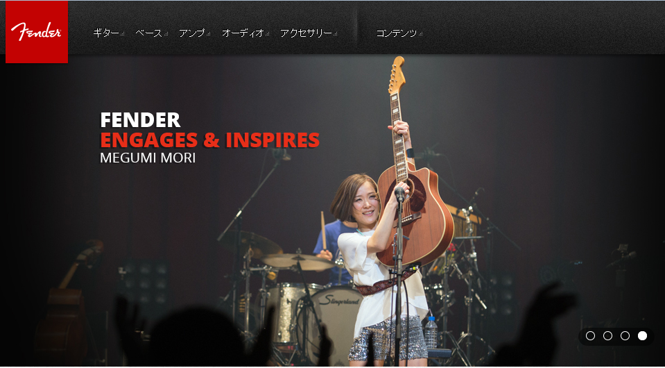 http://fender.co.jp/