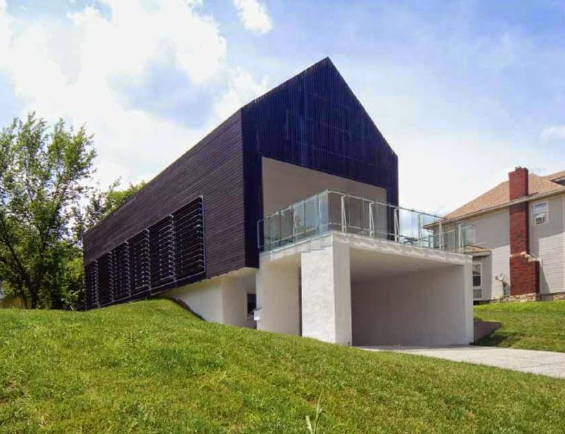 desain model rumah minimalis modern prescott house