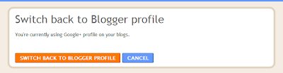 blogger profile to google+ profile
