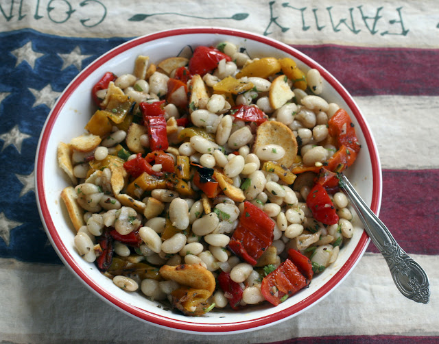 Sweet Pepper and White Bean Salad