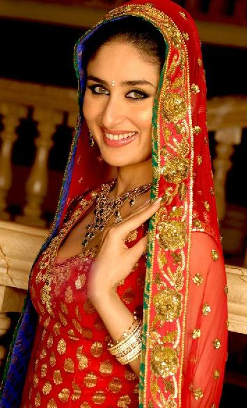 Kareena Kapoor In Wedding Dress Bollywood Hot Celebrities