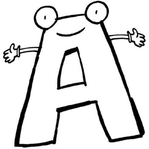 Blog MegaDiverso: Letras del abecedario desde la A hasta la Z para ...