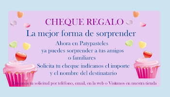YA TENEMOS CHEQUE REGALO