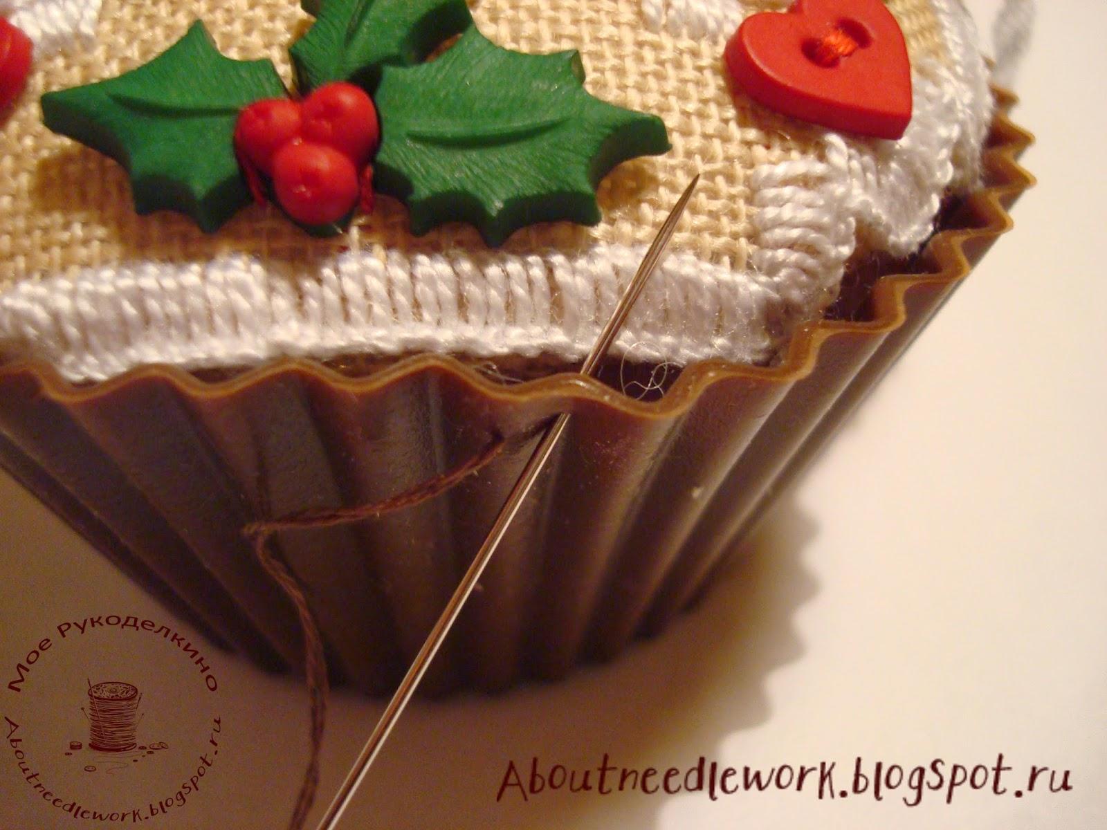 Вышивка кексов по схеме The Victoria Sampler