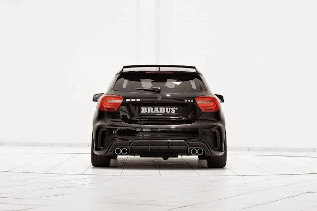 brabus a 45 rear bumper