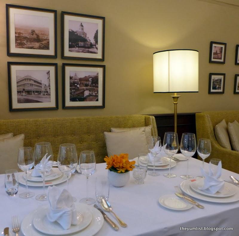 Colonial Cafe, The Majestic Hotel Kuala Lumpur,