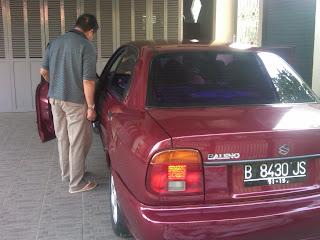 Pengecekan Mobil Baleno B 8430 JS Kupang.