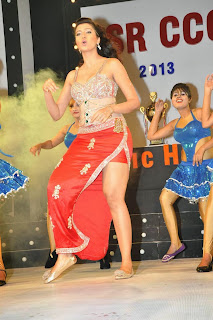 Hamsa Nandini Spicy Item Song dance Stills Chania Choli and leg Split ghagra