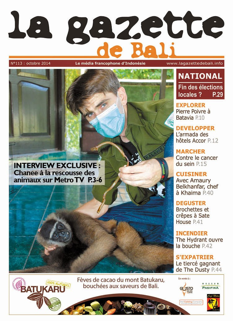 La Gazette de Bali octobre 2014