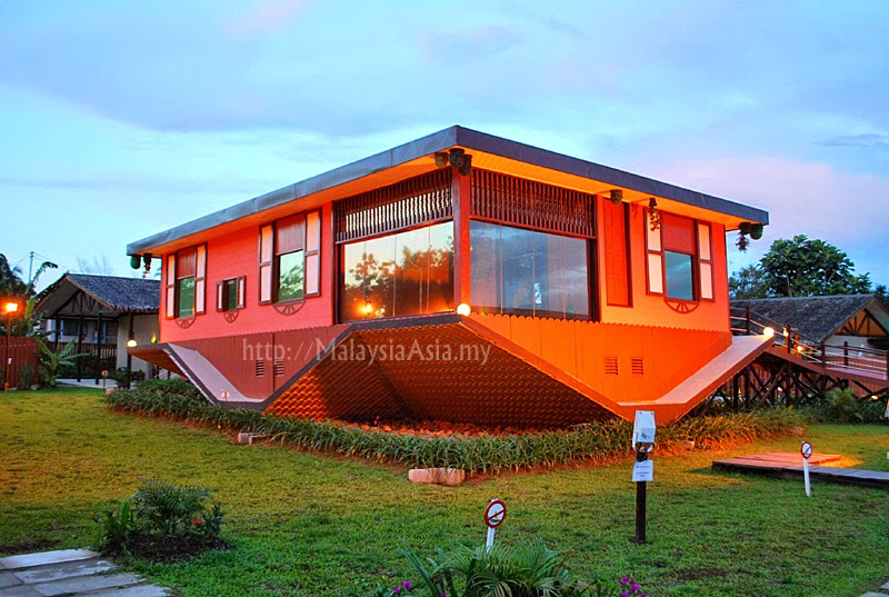 Upside Down House in Sabah