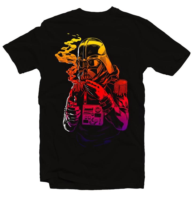 Vader tshirt design