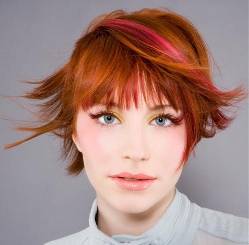 deskundige laid rood haar