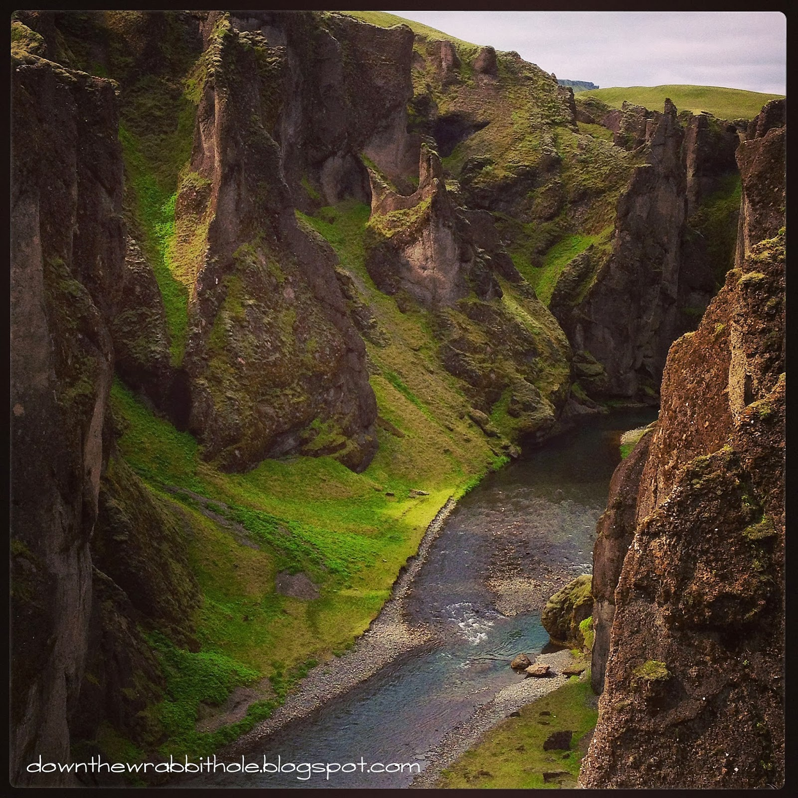 The Majestic Fjarrgljfur Canyon Of Southern Iceland