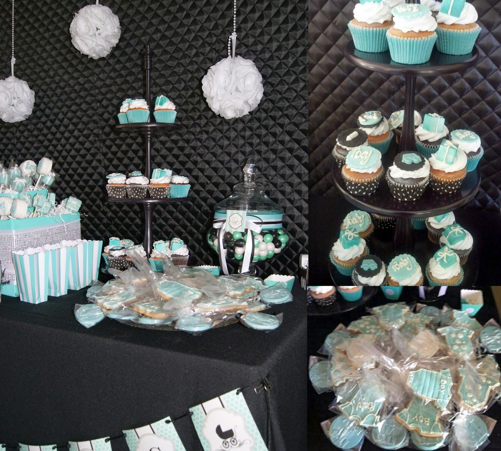 candy station, breakfast at tiffany's party, allthingsslim,