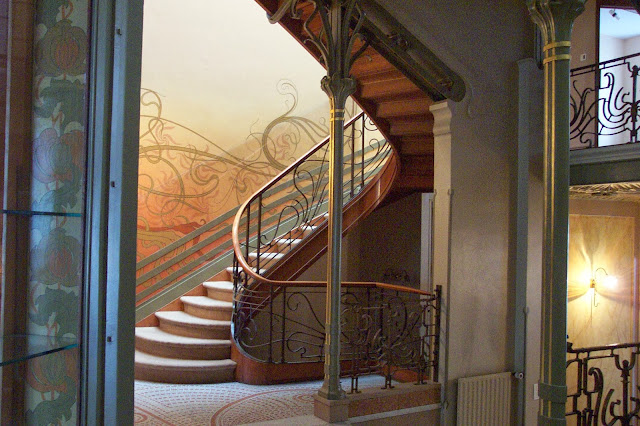 Jugendstil- bzw. Art Nouveau Design in Architektur