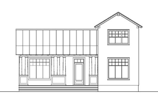 Decoraciones y modernidades plano de hogar de dos pisos for Fachadas de casas modernas para colorear
