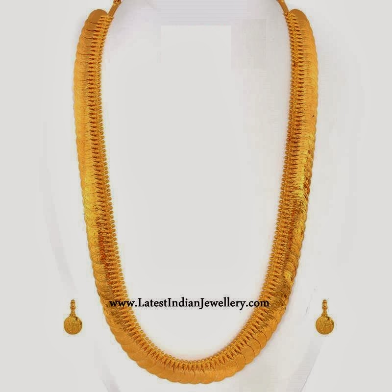 Traditional Kasu Mala Design