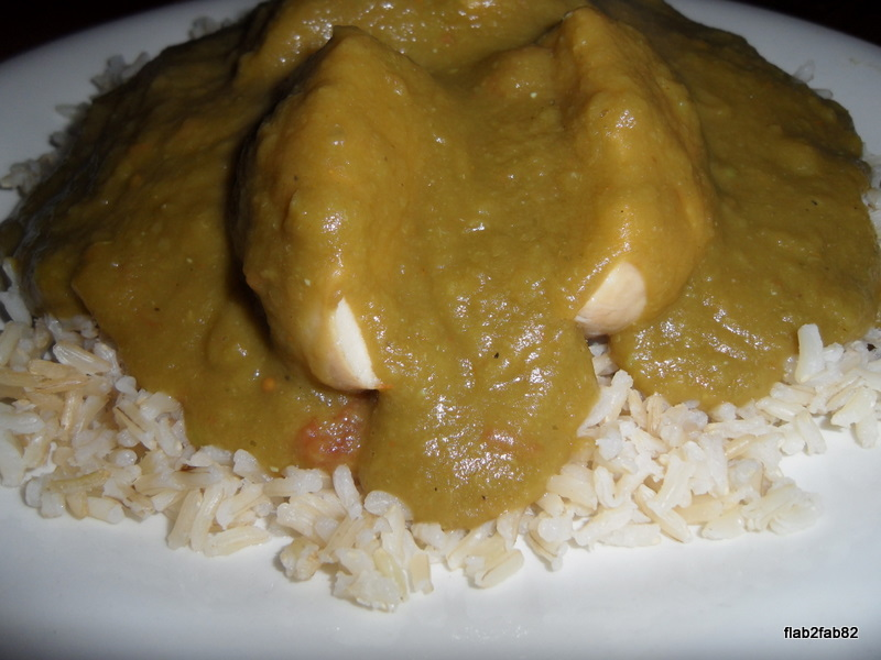 Flab 2 Fab: Mushy Pea Curry