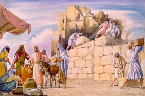 Haggai and the Jews Under the Reign of the Persian King Darius