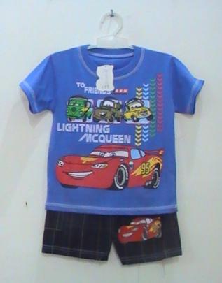 baju kartun anak cars 2