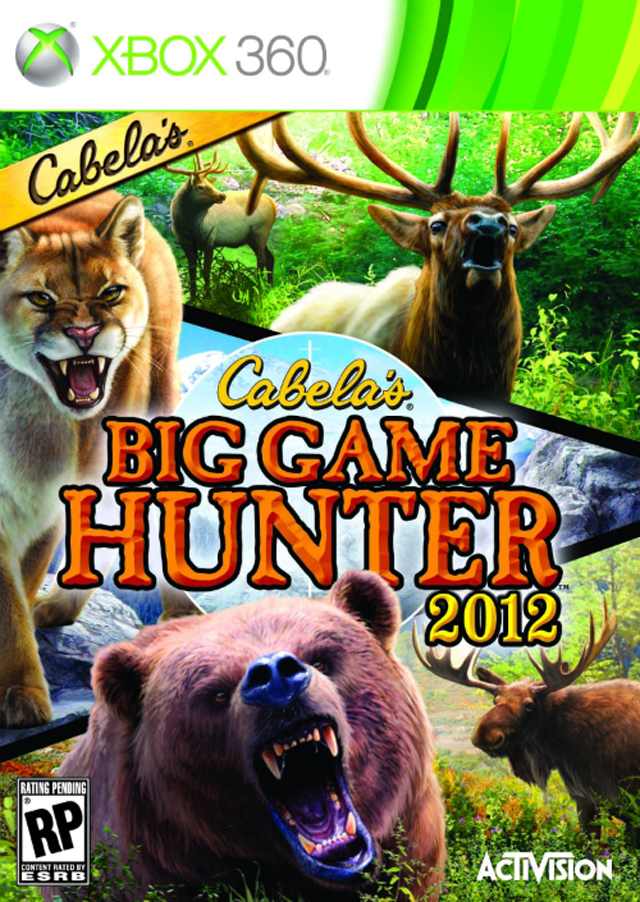 Hunting Games For Xbox 360 : Cabelas big game hunter xbox vower games