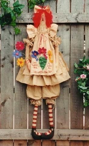 Moldes boneca Tilda country
