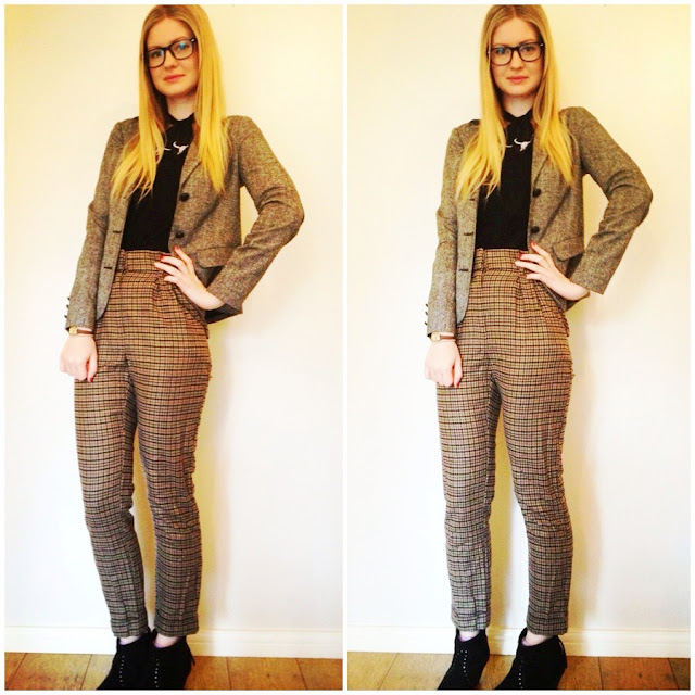 outfit, fashion, pattern trousers, geek, style, fashionfake
